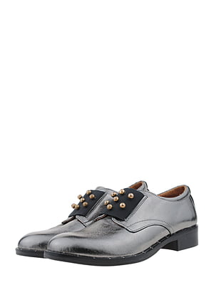 Туфли стального цвета | 5479628