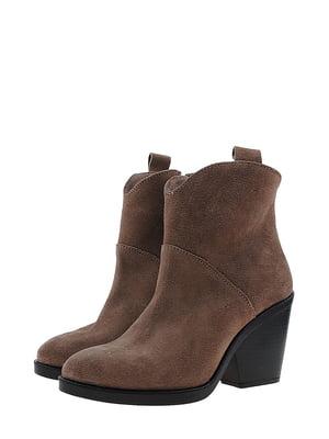 Ботинки кофейного цвета | 5507870