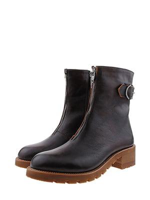 Ботинки коричневого цвета | 5507875