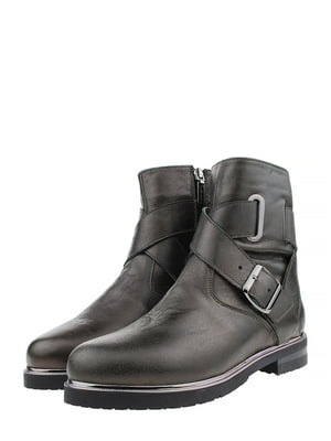 Ботинки цвета хаки | 5507945