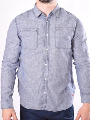 Рубашка сизого цвета | 5510077