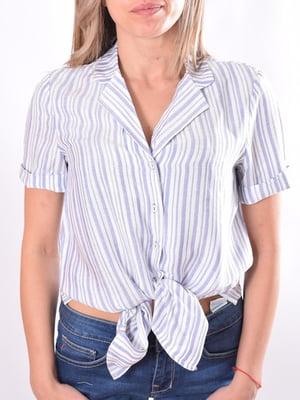 Блуза в полоску   5510116
