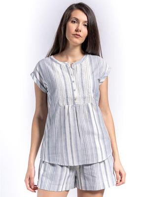 Блуза в полоску   5510120