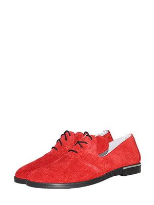 Туфлі червоного кольору з перфорацією | 5499221