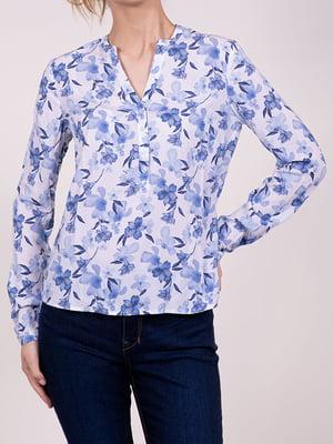 Блуза в цветочный принт | 5466296