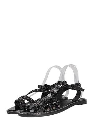 Босоножки черные | 5502402