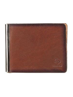Затиск для грошей коричневий | 5510544