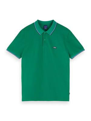Футболка-поло зелена | 5510182