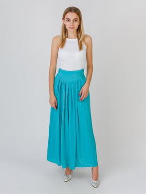 Штани бірюзового кольору | 5500412
