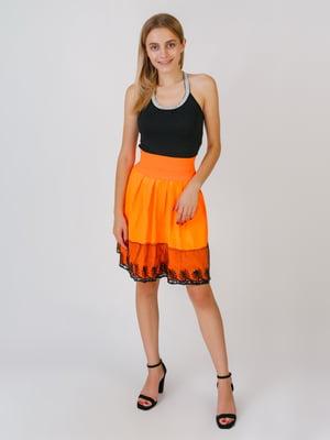 Спідниця помаранчевого кольору | 5500390