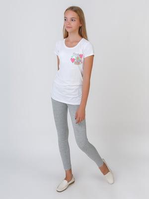 Комплект: футболка, туніка та легінси   5500624
