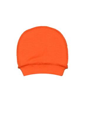 Шапка ясельна помаранчева | 5513424