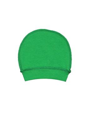 Шапка ясельная зеленая   5513425