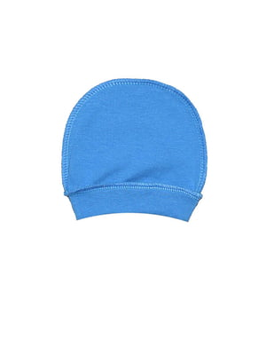 Шапка ясельная синяя   5513427
