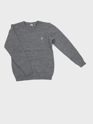 Пуловер серый | 5513811