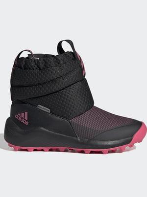 Кросівки чорні з логотипом   5513673