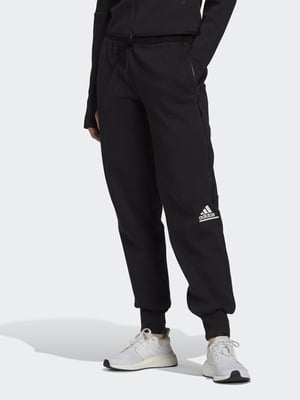 Штани чорні з логотипом | 5513741