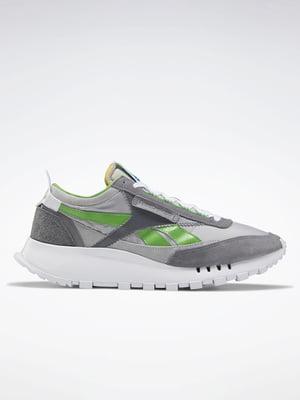 Кросівки сіро-зеленого кольору | 5513938