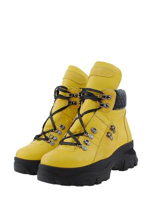 Ботинки желтые | 5472905