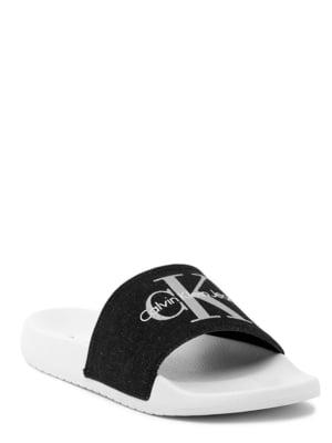 Шльопанці чорно-білі | 5498116