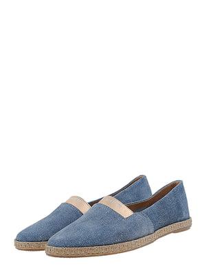 Эспадрильи голубые джинсовые | 5499170