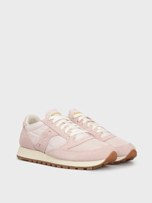 Кросівки біло-рожеві JAZZ VINTAGE 60368-136s | 5512248