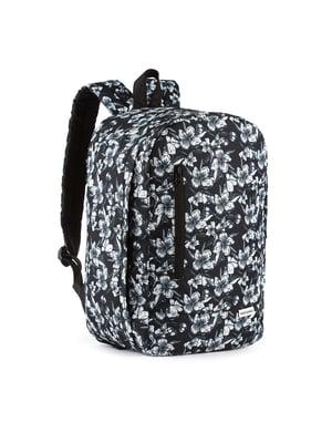 Рюкзак для ручной клади в цветочный принт (40x25x20 см) | 5514187