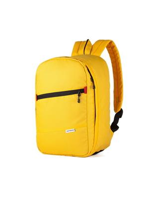 Рюкзак для ручной клади желтый (40x20x25 см) | 5514201