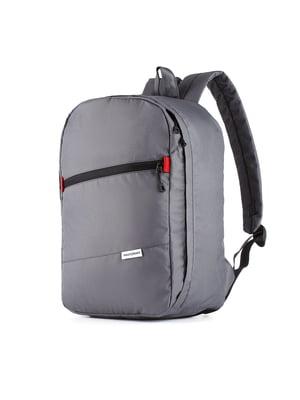 Рюкзак для ручной клади серый (40x20x25 см)   5514202