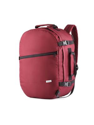 Сумка-рюкзак для ручной клади бордовая (50х35х20 см) | 5514216