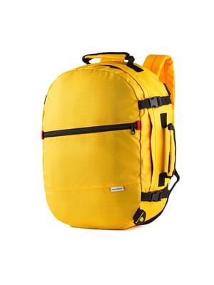 Сумка-рюкзак для ручной клади желтая (50х35х20 см)   5514217