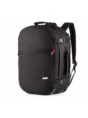 Сумка-рюкзак для ручной клади черная (50х35х20 см)   5514219