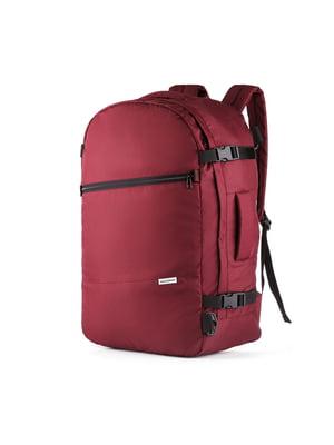Сумка-рюкзак для ручної поклажі бордова (55х35х20 см) | 5514220