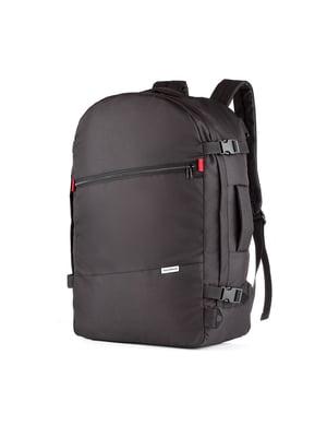 Сумка-рюкзак для ручной клади черная (55х35х20 см)   5514222