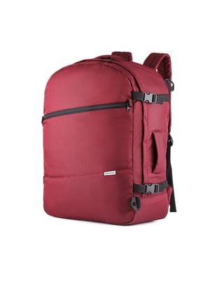 Сумка-рюкзак для ручної поклажі бордова (55х40х20 см) | 5514223