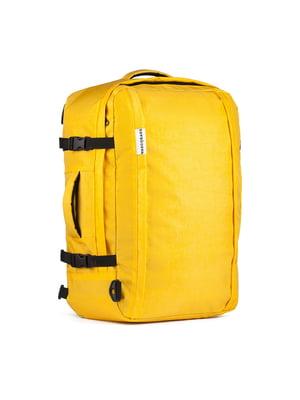 Сумка-рюкзак для ручной клади желтая (55х40х20 см) | 5514226