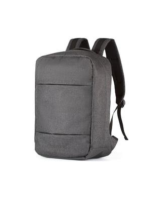 Рюкзак для ноутбука графитового цвета (40x30x15 см)   5514231