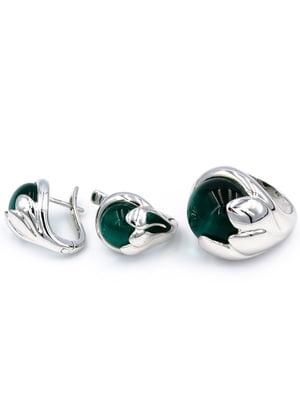 Комплект: кольцо и серьги | 5514310