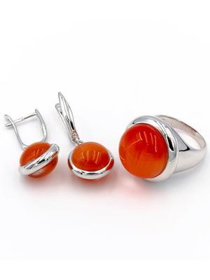 Комплект: каблучка і сережки | 5514323