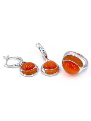 Комплект: каблучка і сережки | 5514325