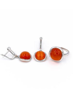 Комплект: каблучка і сережки | 5514326