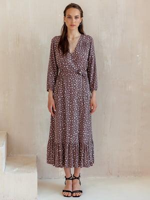 Сукня коричнева в принт - MiNiMax - 5514349