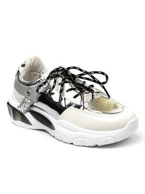 Кросівки сріблястого кольору | 5511798