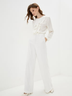Блуза цвета сливочного крема | 5514341