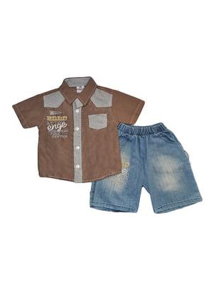 Комплект: сорочка і шорти   5504729