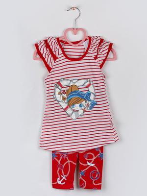 Комплект: футболка та бриджі | 5504762
