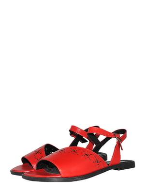 Сандалии красного цвета | 5513350