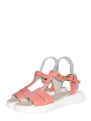 Босоніжки персикового кольору | 5514864