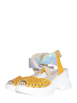 Босоножки желтые | 5514873