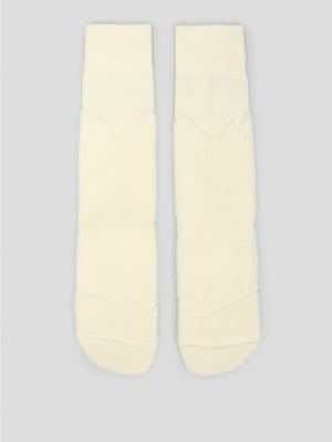 Шкарпетки спортивні молочного кольору | 5512634